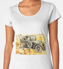OLD RUSTY FIAT Women's Premium T-Shirt