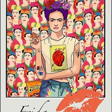 Kahlo Polaroid by AManDuhhh