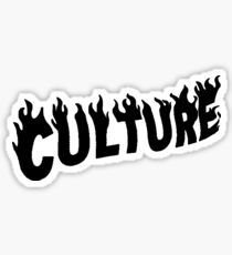 Migos Culture La Flame Logo Sticker