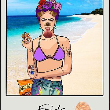 Frida in Cancun by AManDuhhh
