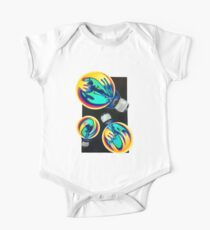 Psychedelic Bulbs  One Piece - Short Sleeve