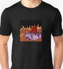 Satan Tea Party with Kittens T-Shirt