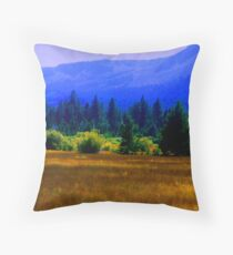 Fallen Leaf Meadow Throw Pillow