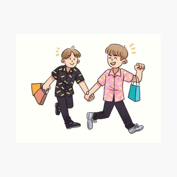 Wanna One Go - Jinhwi Art Print