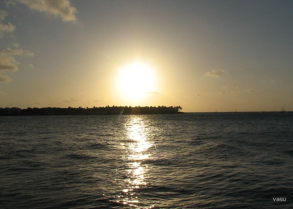 Sunset  by vasu