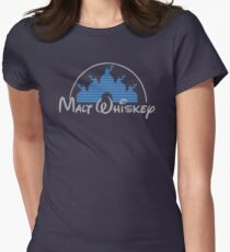 Malt Whiskey   Women's Fitted T-Shirt