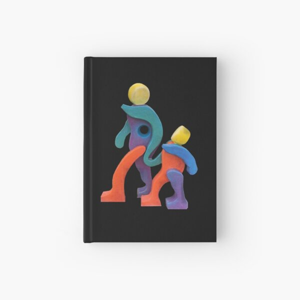 Joyful Spirit - Transparent Border Hardcover Journal