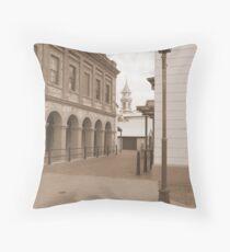 """""""Port Adelaide Streetscape"""" Throw Pillow"""