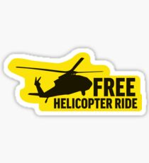 Free Helicopter Ride Libertarian Snek Right Don't Thread on Me Style MAGA - Online Store Sticker