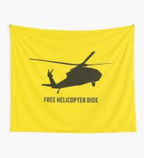 Free Kekistani Helicopter Ride Libertarian Snek Right Don't Thread on Me Style MAGA #BuildTheWall - Online Store Wall Tapestry