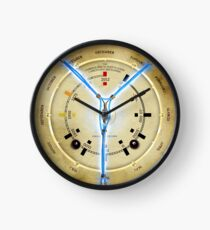 Steampunk Time Travelling Flux Capacitor Wall Clock Clock