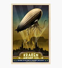 Steampunk Airship: Admiral Rosendahl Photographic Print
