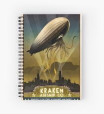 Steampunk Airship: Admiral Rosendahl Spiral Notebook
