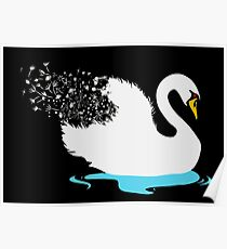 The Majestic Swan Poster