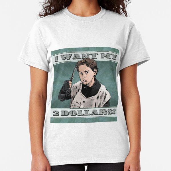 I Want My Two Dollars!, Better Off Dead Classic T-Shirt
