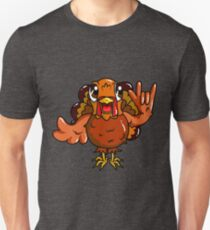 Sign Language Thanksgiving Turkey I Love YOU ASL T-Shirt
