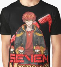 Seven 707 Mystic Messenger Game Graphic T-Shirt