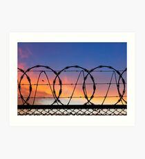 Freedom and Security.  Art Print