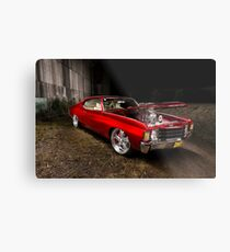 Ben's Chevrolet Chevelle Coupe Metal Print