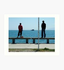 Dock of the Bay by Richard Jones Art Print