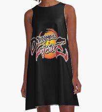 DRAGON FIGHTER A-Line Dress