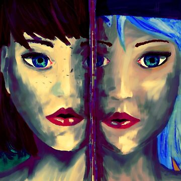 Side by Side Girls by Dyceus