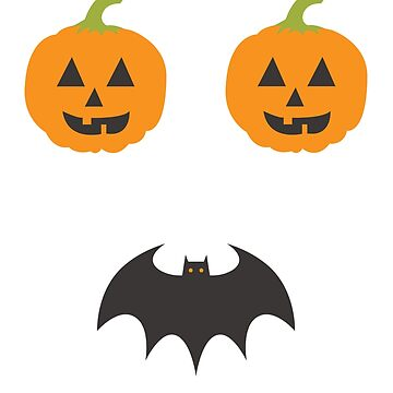 Pumpkins & Bat  by Hgomez84