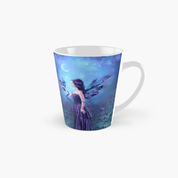 Iridescent Fairy & Dragon Tall Mug