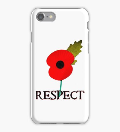 Respect iPhone Case/Skin