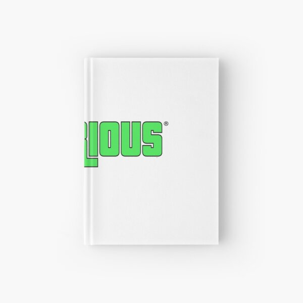 Tylarious Neon Green Hardcover Journal