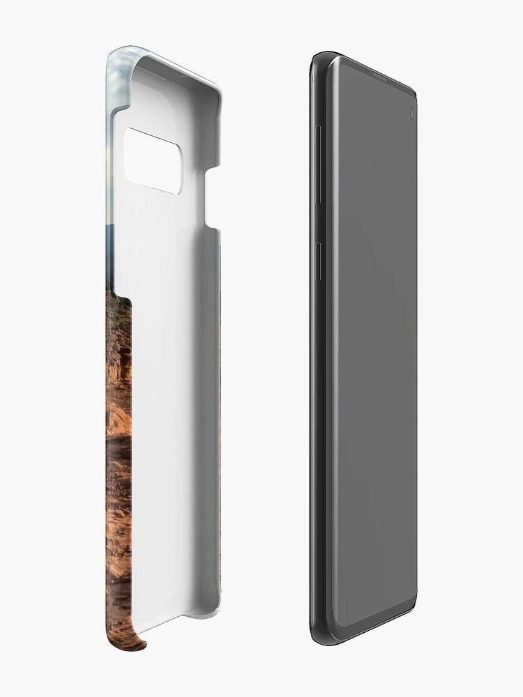 Vista alternativa de Funda y vinilo para Samsung Galaxy Panorama del Gran Cañón