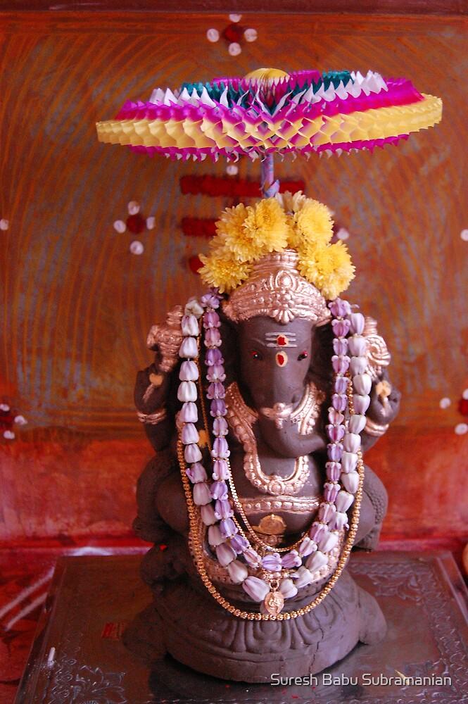 Lord Ganesh Chaturthi by Suresh Babu Subramanian