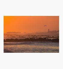 Sunset on Edwards Photographic Print