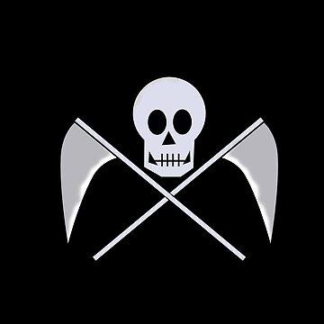 Scythes and Skull by jomzojeda