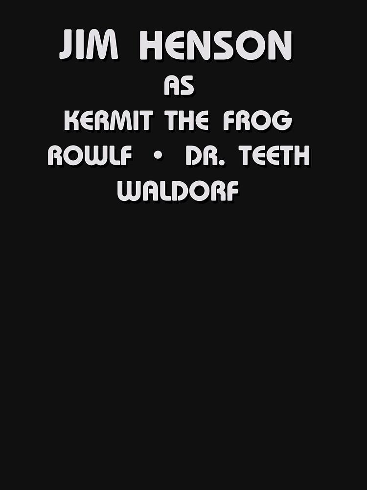 The Muppet Movie | Jim Henson as Kermit the Frog, Rowlf, Dr. Teeth, Waldorf by directees