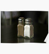 Salt and Pepper Poster