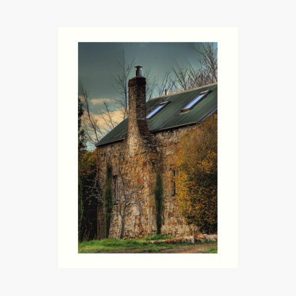 The Cottage Art Print