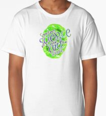 The Art of Science Remix Dub Step Edition Long T-Shirt