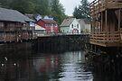 Creek Street, Juneau, Alaska by Allen Lucas