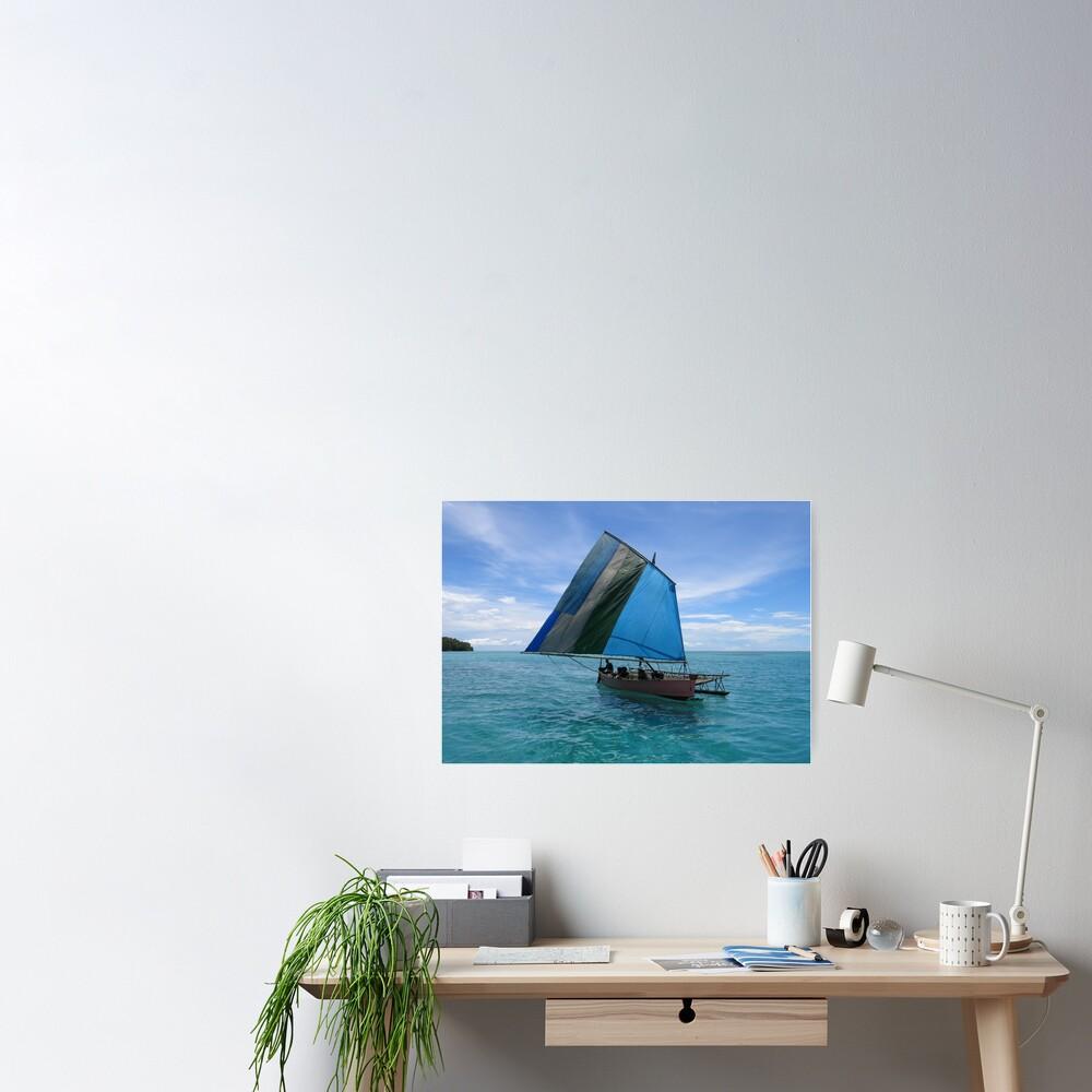 Malawi at Deboyne lagoon Poster