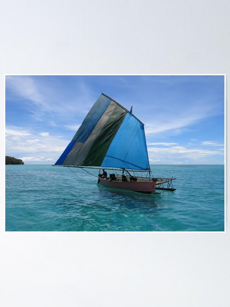 Alternate view of Malawi at Deboyne lagoon Poster
