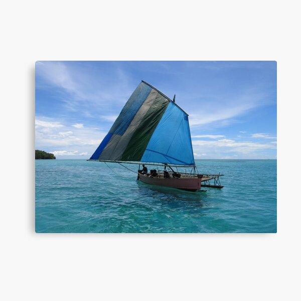 Malawi at Deboyne lagoon Canvas Print