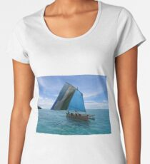 Malawi at Deboyne lagoon Women's Premium T-Shirt