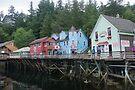 Dolly's 24 Creek St. Juneau Alaska by Allen Lucas
