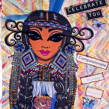 Celebrate You - First Nations (Blue) by susanchristophe