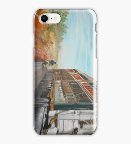 The Camooweal Track - Cattle Truck iPhone Case/Skin
