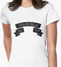 Culper Ring Women's Fitted T-Shirt