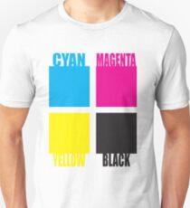 CMYK Blocks T-Shirt