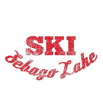 Sebago Lake Water Skier Shirt by HoodieWoodie