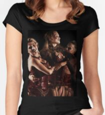 Rococo Women's Fitted Scoop T-Shirt